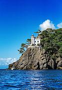 Lighthouse, Portofino, Liguria, Italy.