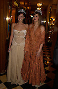 Anastasia Gorbatcheva and Princess Nina Soutzo, Crillon 2004 Debutante Ball. Crillon Hotel. Paris. 26 November 2004. ONE TIME USE ONLY - DO NOT ARCHIVE  © Copyright Photograph by Dafydd Jones 66 Stockwell Park Rd. London SW9 0DA Tel 020 7733 0108 www.dafjones.com