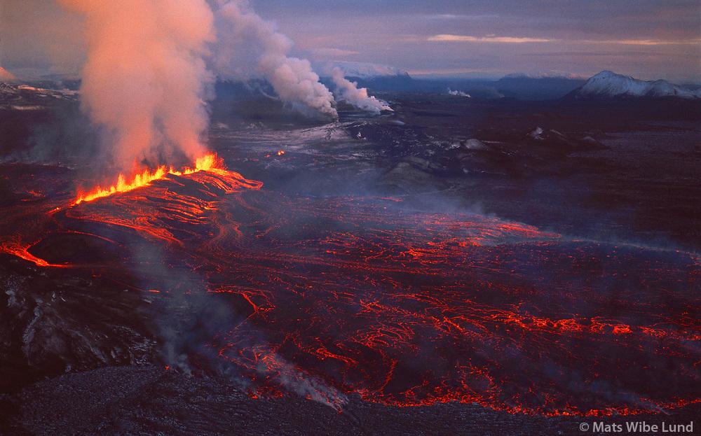 Krafla eldgos  1977 , Kröflueldar, Skútustaðahreppur / Krafla eruption  1977, Skutustadahreppur