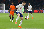 England defender Kieran Trippier during the Friendly match between Netherlands and England at the Amsterdam Arena, Amsterdam, Netherlands on 23 March 2018. Picture by Phil Duncan.