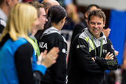Uros Bergant head coach of Team Slovenia during friendly game between national teams of Slovenia and Serbia on 29th of September, Celje, Slovenija 2018