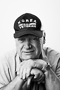 James Krupoenski<br /> Army<br /> E-3<br /> Ordinance<br /> Nov. 1952 - Nov. 1954<br /> Korean War<br /> <br /> Veterans Portrait Project<br /> Springfield, MA