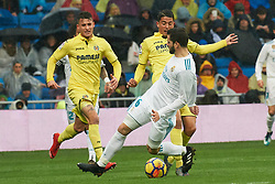 La Liga match between Real Madrid and Villareal CF at Santiago Bernabeu on January 13, 2018 in Madrid. 13 Jan 2018 Pictured: Nacho Fernandez (defender; Real Madrid). Photo credit: MEGA TheMegaAgency.com +1 888 505 6342