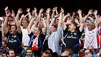 Photo: Richard Lane/Richard Lane Photography. Juventus v SV Hamburg. Emirates Cup. 03/08/2008. Hamburg fans celebrate a goal.