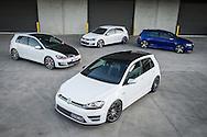 VW Golf GTI & VW Golf R Group Photo Shoot 12th Sept