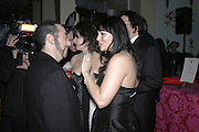David Gest and Martine McCutcheon, Andy and Patti Wong's Chinese New Year of the Pig party. Madame Tussauds. ( Dress Burlesque, Debauched or Hollywood Black Tie. ) London. 27 January 2007.  -DO NOT ARCHIVE-© Copyright Photograph by Dafydd Jones. 248 Clapham Rd. London SW9 0PZ. Tel 0207 820 0771. www.dafjones.com.