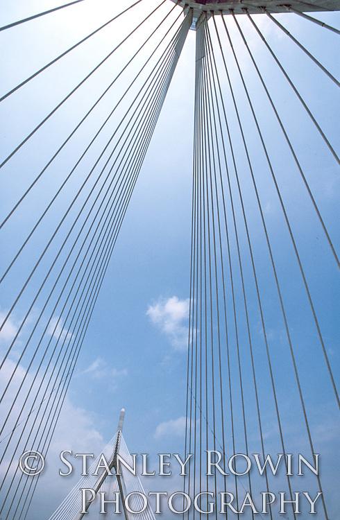 Zakim Bunker Hill Bridge, Architectural Detail