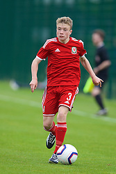 NEWPORT, WALES - Wednesday, May 27, 2015: Regional Development Boys' Jacob Jones during the Welsh Football Trust Cymru Cup 2015 at Dragon Park. (Pic by David Rawcliffe/Propaganda)