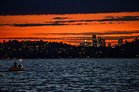 Lake Washington @ Sunset in Summer