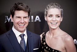 May 29, 2017 - Madrid, Spain - Tom Cruise and actress Annabelle Wallis attend 'The Mummy' premiere at Callao Cinema on May 29, 2017 in Madrid, Spain. (Credit Image: © Coolmedia/NurPhoto via ZUMA Press)