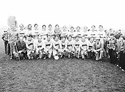 The Guinness team after the Guinness v Garda Gaelic Football Club Tournament Final on the 14th October 1979.