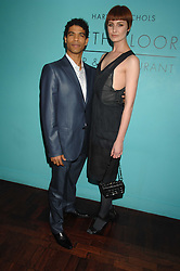 Model ERIN O'CONNOR and dancer CARLOS ACOSTA at a dinner in honour of Francisco Costa of Calvin Klein hosted by Vogue at the Fifth Floor restaurant, Harvey Nichols, London on 28th March 2007.<br /><br />NON EXCLUSIVE - WORLD RIGHTS