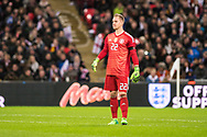 Germany (22) GK Ter Stegen during the Friendly match between England and Germany at Wembley Stadium, London, England on 10 November 2017. Photo by Sebastian Frej.