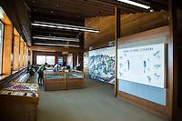 Hurricane Ridge Visitors Center, Olympic National Park, WA.