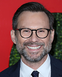 BEVERLY HILLS, LOS ANGELES, CA, USA - DECEMBER 06: Actor Christian Slater arrives at the 2018 GQ Men Of The Year Party held at Benedict Estate on December 6, 2018 in Beverly Hills, Los Angeles, California, United States. 06 Dec 2018 Pictured: Christian Slater. Photo credit: Xavier Collin/Image Press Agency/MEGA TheMegaAgency.com +1 888 505 6342