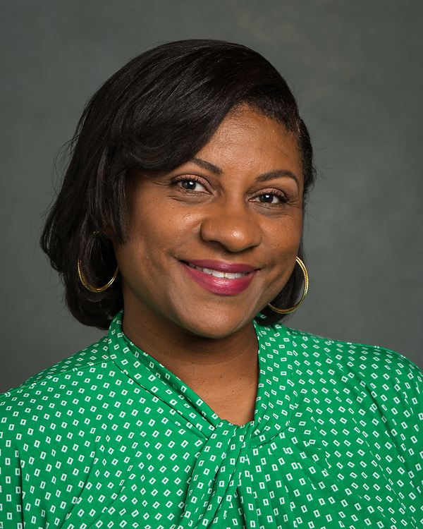 Janeen Crayton poses for a photograph, June 7, 2017.
