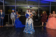 The Senior Prom Queen, Chaise Hill poses for a photo as Fairdale High School holds it's prom at the Muhammad Ali Center on Saturday, May 18.