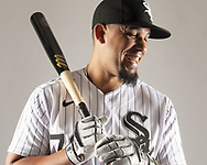 GLENDALE, ARIZONA - FEBRUARY 20:  Jose Abreu #79 of the Chicago White Sox poses for a portrait during White Sox photo day on February 20, 2020 at Camelback Ranch in Glendale Arizona.  (Photo by Ron Vesely) Subject: Jose Abreu