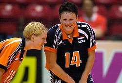 18-06-2000 JAP: OKT Volleybal 2000, Tokyo<br /> Nederland - China 3-0 / Ellen Koopman, Riette Fledderus