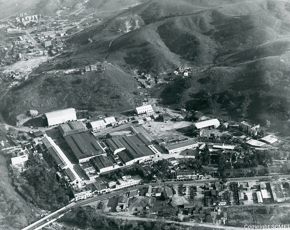 1926 Aerial photo of Universal Studios