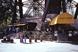 Jules Verne Restaurant at The Eiffell Tower