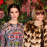 Bee Shaffer and Anna Wintour attends Evening Standard Theatre Awards at Theatre Royal, on 18 November 2018, London, UK.