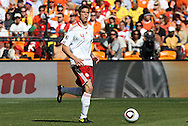 14 JUN 2010:  Daniel Agger (DEN)(4).  The Netherlands National Team defeated the Denmark National Team 2-0 at Soccer City Stadium in Johannesburg, South Africa in a 2010 FIFA World Cup Group E match.