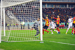 March 8, 2019 - Rades, Tunisia - First goal for EST scored by godfred Asante(14) against his side during the  Match of the 5th day of the group phase of the CAF Champions League, between L'Esperance sportive de Tunis (EST) and Horoya Conakry (HAC) of Guinea Friday 8 March Radès.EST won by 2/0 ..photo: Yassine Mahjoub. (Credit Image: © Chokri Mahjoub/ZUMA Wire)