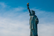 NEW YORK  2020V10<br /> Frihetsgudinnan på Liberty Island.<br /> Statue of Liberty on Liberty Island.<br /> <br /> Foto: Per Danielsson/Projekt.P