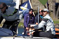 Bjorn Hansen, Hansen Global Team, St Moritz Match Race 2010. World Match Racing Tour. St Moritz, Switzerland. 1st September 2010. Photo: Ian Roman/WMRT.