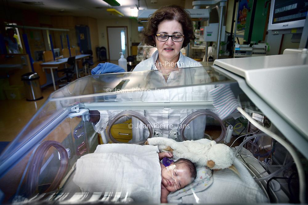 Nederland, Amsterdam , 14 oktober 2010..Mirjam M. van Weissenbruch, kinderarts-neonatoloog, medisch hoofd IC Neonatologie,.Foto:Jean-Pierre Jans