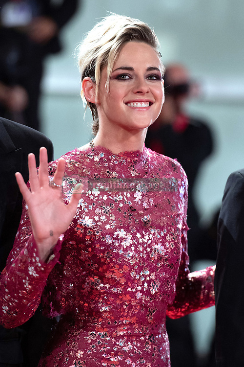File photo dated August 30, 2019 of Kristen Stewart attending the Seberg Premiere as part of the 76th Venice Internatinal Film Festival (Mostra). Twilight actress Kristen Stewart will play Princess Diana in a new film about the late princess's break-up from Prince Charles, according to reports. Stewart will star in Spencer, set in the early 1990s, which will be scripted by Peaky Blinders creator Steven Knight, Hollywood news sites say. Photo by Aurore Marechal/ABACAPRESS.COM