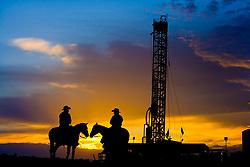 Cowboys & Oil Rig