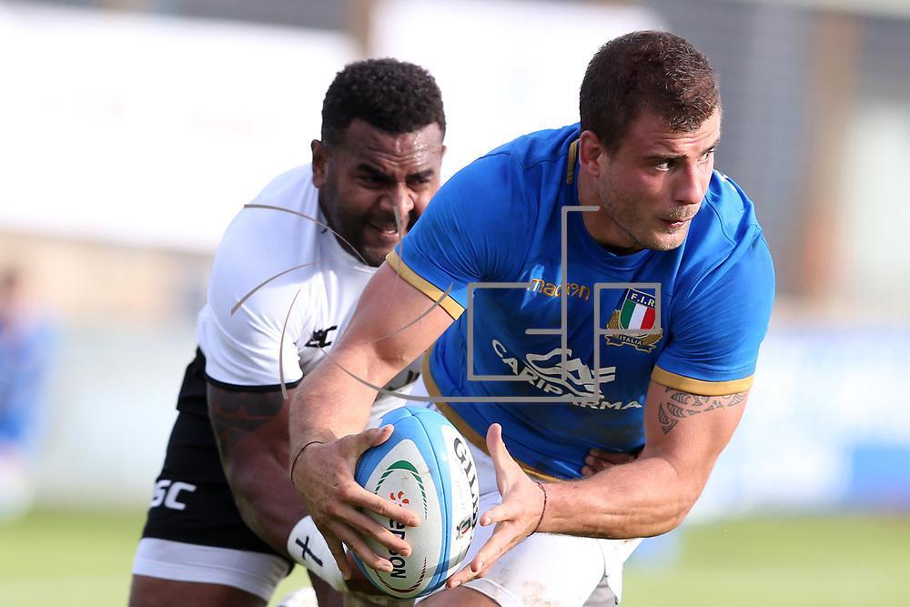 Catania 11/11/2017 Stadio Angelo Massimino<br /> Cariparma Test match 2017<br /> Italia vs Fiji<br /> Tommaso Castello