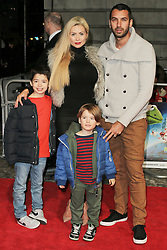 © Licensed to London News Pictures. 24/03/2014, UK. Nicola McLean, Muppets Most Wanted - VIP screening, Curzon Mayfair, London UK, 24 March 2014. Photo credit : Richard Goldschmidt/Piqtured/LNP