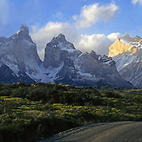 Americas; South America; Chile; Torres del Paine National Park.