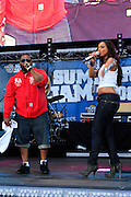 Raekwon and Alicia Keys at The 2008 Hot 97 Summer Jam held at Giants Stadium in Rutherford, NJ on June 1, 2008...Summer Jam is the annual hip-hop fest held at Giants Stadium and sponsored by New York based radio station Hot 97FM.