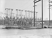 "9904-B03B. ""Albina Shipyard site. Electrical station. September 15, 1950"" (no story in Oregonian newspaper)"