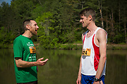 Photographs of Thunderbunny 50K ultramarathon competitors running the courses throughout Strouds Run State Park on Saturday, May 13, 2017 in Athens, Ohio. The Thunderbunny 50K event includes three races with different distances—50K, 25K and 12K.<br /> <br /> [Photograph by Joel Prince]
