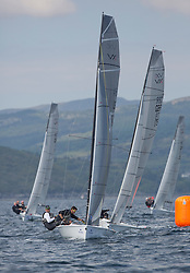Day three of the Silvers Marine Scottish Series 2016, the largest sailing event in Scotland organised by the  Clyde Cruising Club<br /> Racing on Loch Fyne from 27th-30th May 2016<br /> <br /> VX One fleet with, USA208, Ovington Boats, Brian Bennett, Sarasota SailSquadron<br /> <br /> Credit : Marc Turner / CCC<br /> For further information contact<br /> Iain Hurrel<br /> Mobile : 07766 116451<br /> Email : info@marine.blast.com<br /> <br /> For a full list of Silvers Marine Scottish Series sponsors visit http://www.clyde.org/scottish-series/sponsors/
