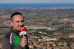 Rok Plestenjak of Siol Sportal a day before 2010 FIFA Qualification match between San Marino and Slovenia, on October 13, 2009, in San Marino,  San Marino.  (Photo by Vid Ponikvar / Sportida)