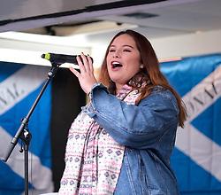 Independence Rally, Glasgow, Saturday 2nd November 2019<br /> <br /> Pictured: Valentina Servera Clavell <br /> <br /> Alex Todd | Edinburgh Elite media