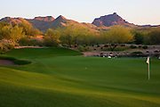 Golf Course at Fort McDowell, outside of Phoenix, Arizona.