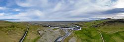 THEMENBILD - blick vom Felsen Fljotsalsherao, aufgenommen am 09. Juni 2019 in Island // view from the rock Dyrhólaey, Iceland on 2019/06/09. EXPA Pictures © 2019, PhotoCredit: EXPA/ Peter Rinderer
