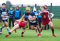 Will Capon (BGS) of Bristol Rugby Academy U18 - Mandatory by-line: Paul Knight/JMP - 11/02/2017 - RUGBY - SGS Wise Campus - Bristol, England - Bristol Academy v Gloucester Academy - Premiership Rugby Academy U18 League