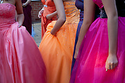 Students from Highsted Grammar School, Sittingbourne, enjoying  their prom night, Hempstead House Hotel in Kent. In recent years American style prom nights to celebrate graduation from high School have been gaining popularity in the UK. These pictures are part of a set  commissioned for the Times magazine that  look at this teenage rite of passage across three schools in the UK