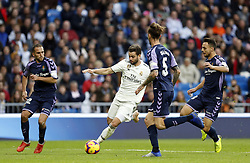 November 3, 2018 - Madrid, Madrid, Spain - Nacho (Real Madrid) seen in action during the La Liga match between Real Madrid and Real Valladolid at the Estadio Santiago Bernabéu..Final score Real Madrid 2-0 Valladolid. (Credit Image: © Manu Reino/SOPA Images via ZUMA Wire)