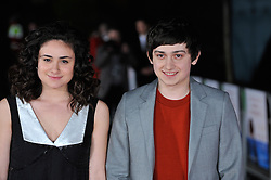 © under license to London News Pictures. Main stars of the movie Yasmin Paige and Craig Roberts arrive on the red carpet at the premiere of 'Submarine' held at London's BFI on the Southbank.Photo credit should read THEODORE WOOD/LNP