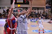 DESCRIZIONE : Trento Lega A 2015-16 Dolomiti Energia Trentino - Consultinvest Pesaro<br /> GIOCATORE : Davide Pascolo<br /> CATEGORIA : Tiro<br /> SQUADRA : Dolomiti Energia Trentino - Consultinvest Pesaro<br /> EVENTO : Campionato Lega A 2015-2016 <br /> GARA : Dolomiti Energia Trentino - Consultinvest Pesaro<br /> DATA : 08/11/2015 <br /> SPORT : Pallacanestro <br /> AUTORE : Agenzia Ciamillo-Castoria/M.Gregolin<br /> Galleria : Lega Basket A 2015-2016 <br /> Fotonotizia : Trento Lega A 2015-16 Dolomiti Energia Trentino - Consultinvest Pesaro