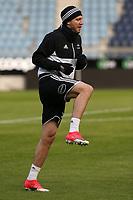 Fotball , 17. april 2017 , Eliteserien, Viking Stavanger - Rosenborg<br />Niclas Bendtner fra Rosenborg før kampen mot Viking.<br />Foto: Andrew Halseid Budd , Digitalsport